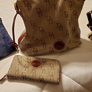 Dooney Bourke bag and wallet